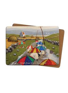 Wish Ewe Were Here Too Placemats Set of 4