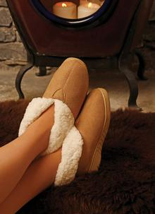 Unisex Faux Suede Boot Slippers