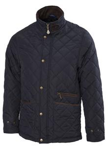 Quilted Fleece Lined Jacket
