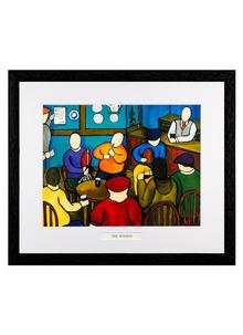 The Session Framed Print