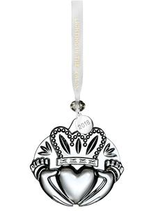 Waterford Crystal Claddagh Ornament
