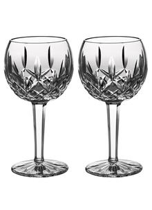 Waterford Crystal Lismore Balloon Wine Pair