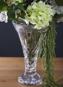 Waterford Crystal Lismore 14'' Statement Vase