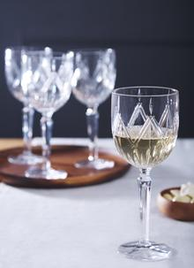 Waterford Crystal Marquis Lacey Wine Set of 4