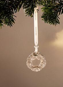 Waterford Crystal Mini Wreath Ornament 2019