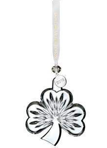 Waterford Crystal Shamrock Ornament