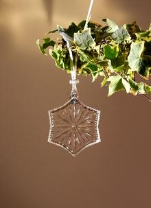 Waterford Crystal Snow Crystal Ornament 2019