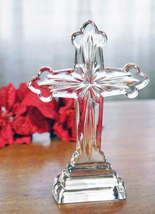 Waterford Crystal 10 Inch Star Standing Cross