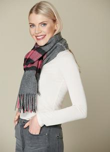 Westminster Grey & Pink Stole
