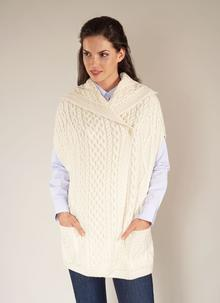 Wool Cape With Buttons