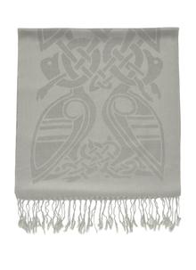 100% Pure New Wool Stone Celtic Scarf
