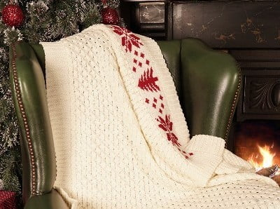 Check Out Our Aran Christmas Throw Here!