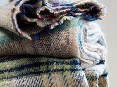Recycled Wool Throws - Set of 2 Only $55!