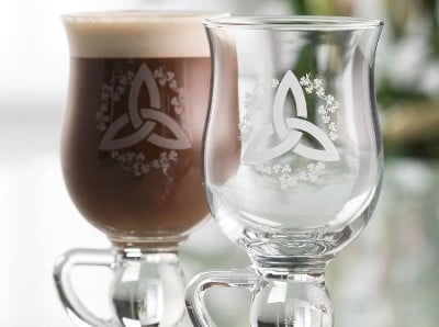 For Coffee Lovers - Galway Crystal Irish Coffee Glasses