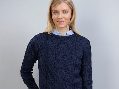The Lovely Laura Cropped Sweater 50% Off Now