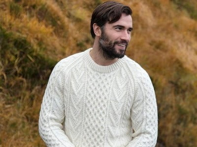 Traditional Handknit Men's Sweaters