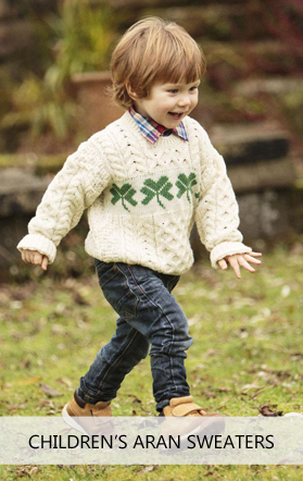 Aran Sweaters for Children