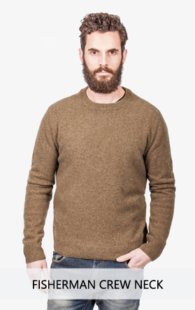 Irish Fisherman Crew Neck Sweater