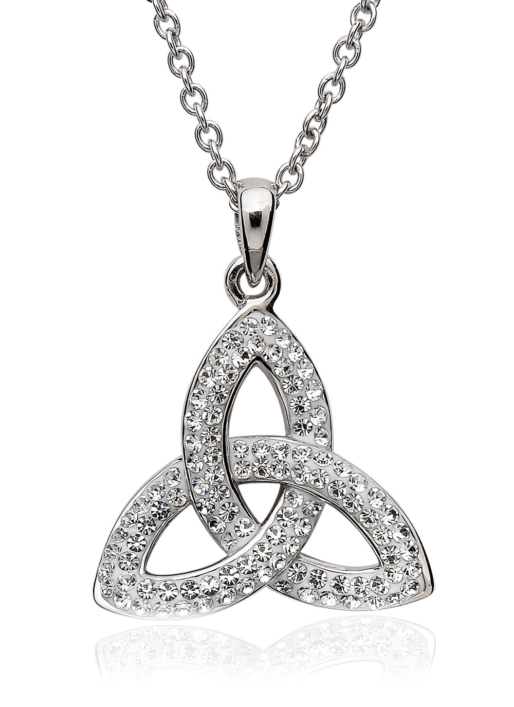 eternity necklace cp knot silver ss sterling celtic shop company landing