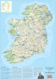 Free Map of Ireland Blarney Woollen Mills