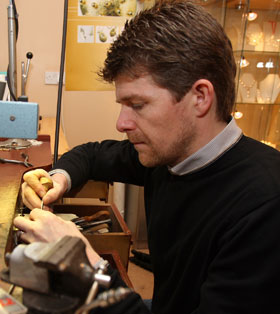 Garrett Mallon Irish Jewelry Designer | Blarney